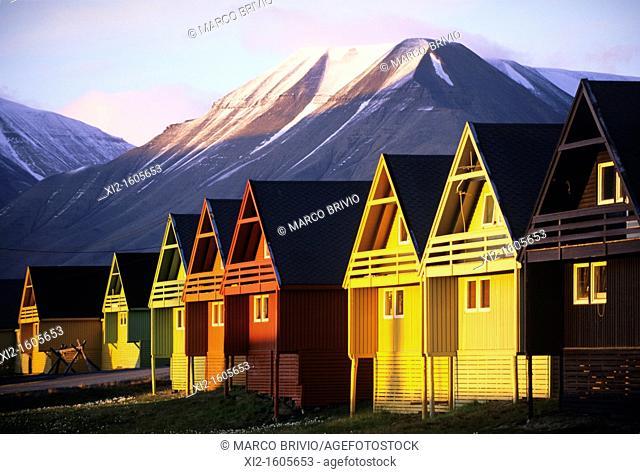 Longyearbyen, Svalbard Archipelago, Norway