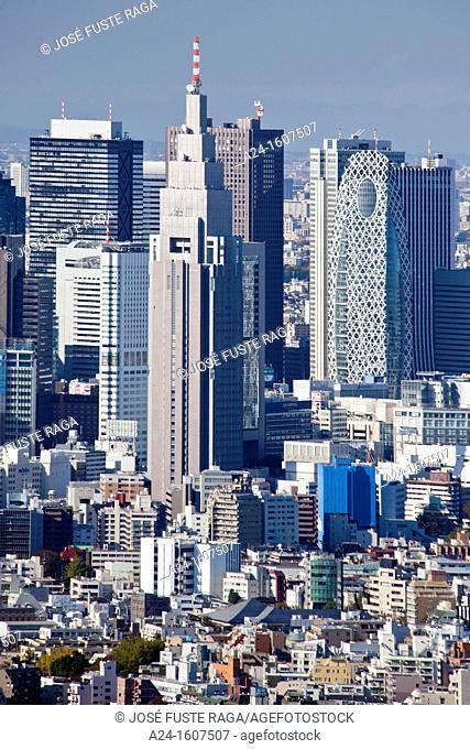 Japan-Tokyo City-Tokyo Skyline-Shinjuku District