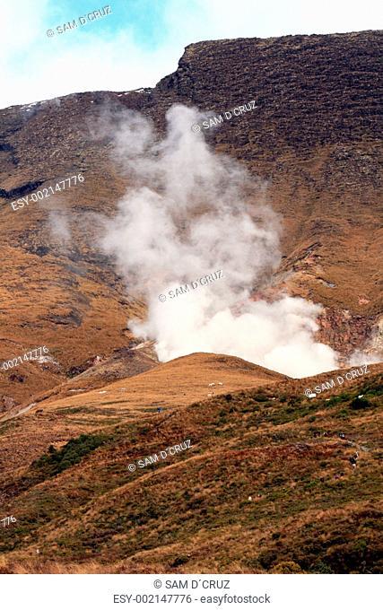 Volcaninc Steam - Tongariro National Park, New Zealand