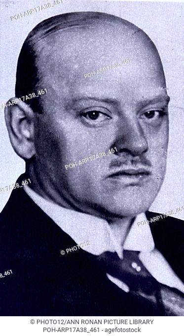 Gustav Stresemann (1878 ñ 1929) was a German politician and statesman who served as Chancellor in 1923 and Foreign Minister 1923ñ1929