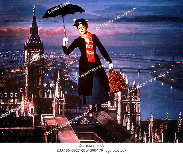 Sep 27, 1964; Los Angeles, CA, USA; Actor DICK VAN DYKE stars as Bert in 'Mary Poppins.'  (Credit Image: © Walt Disney Pictures/Entertainment Pictures/ZUMAPRESS