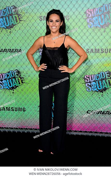 """""""Suicide Squad"""" World Premiere - Red Carpet Arrivals Featuring: Tiffany Smith Where: New York, New York, United States When: 02 Aug 2016 Credit: Ivan..."