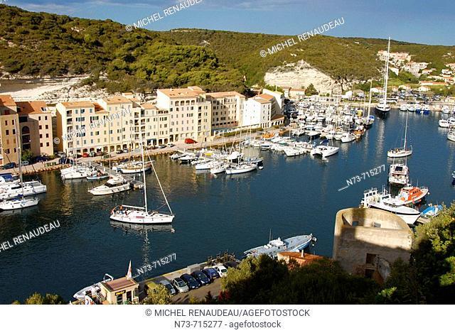Bonifacio. Corse-du-Sud, Corsica, France