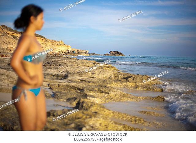 Girl in Formentera