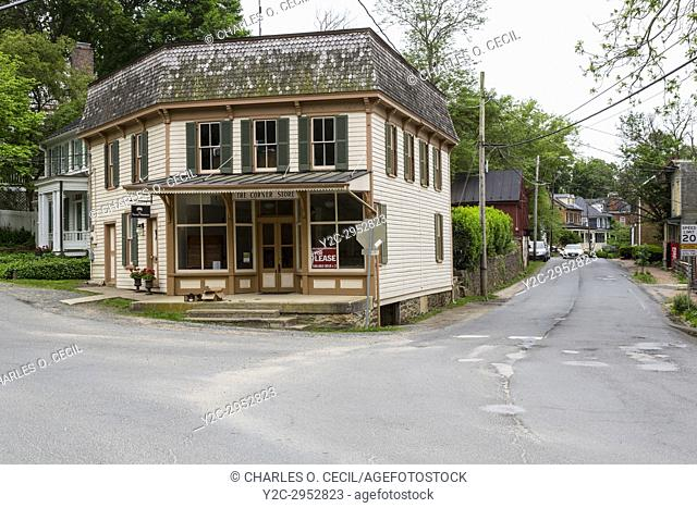 Waterford, Virginia, Founded 1733. Street Scene, The Corner Store