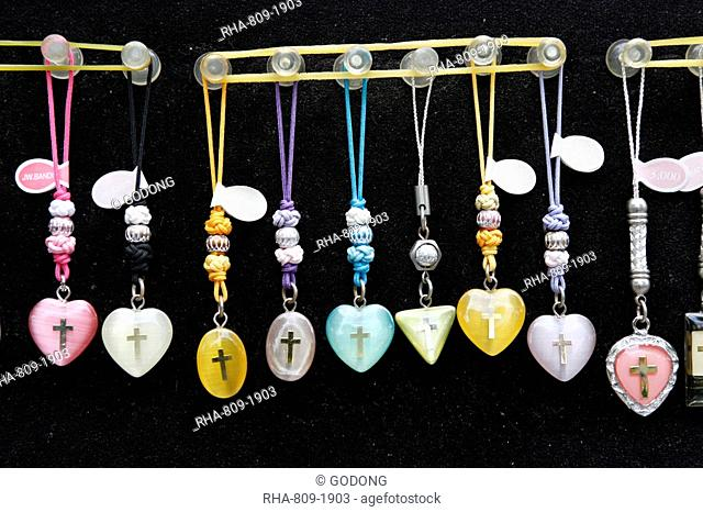 Christian jewelry, Seoul, South Korea, Asia