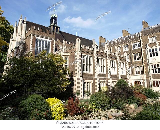 Middle Temple Hall, The City, London, England, UK