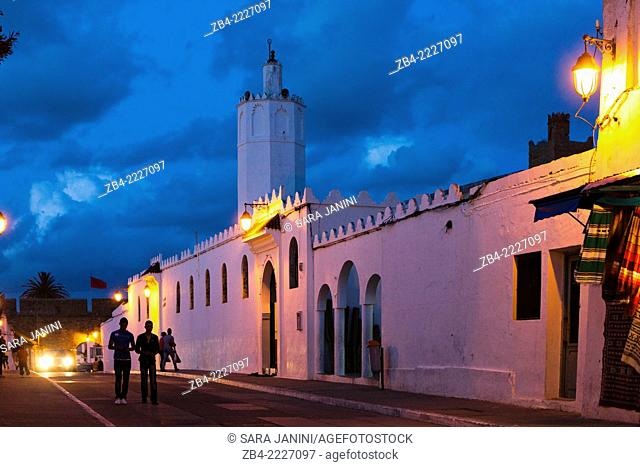 The grand mosque. Asilah, Morocco, North Africa