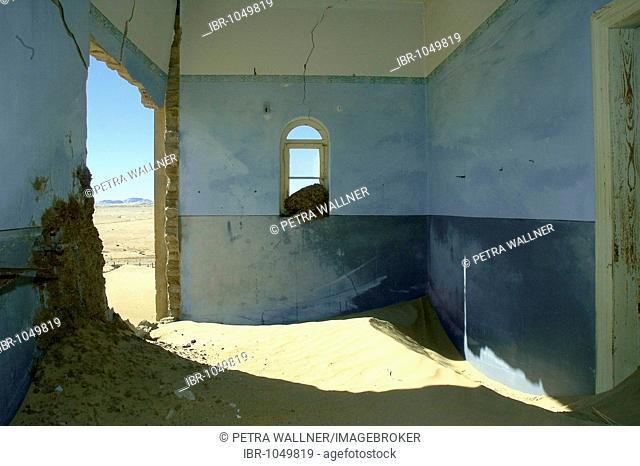 Kolmannskuppe, ghost town, former diamond mine near Luderitz, Namibia, South Africa, Africa