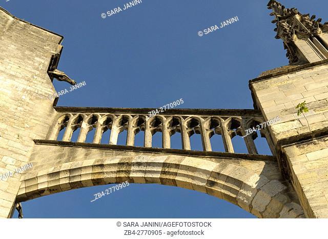 Cathédrale Saint-André, Place Pey Berland, Bordeaux, Aquitaine, France, Europe