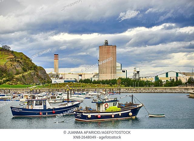 Zierbena Fishing Port, Biscay, Basque Country, Euskadi, Spain, Europe