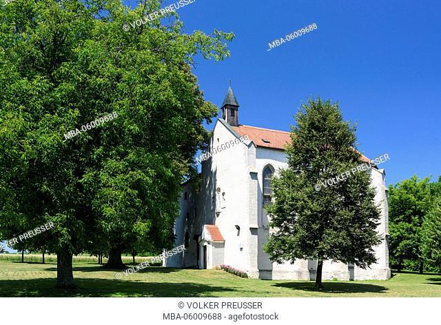 Desolate cloister, former Pauline's cloister, Austria, Burgenland, treegarten
