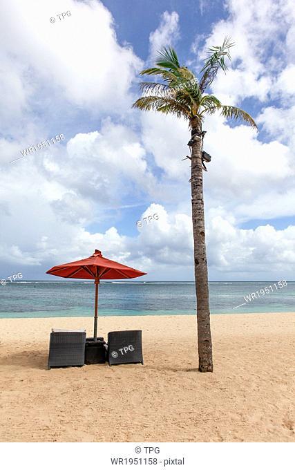 Nusa Dua Beach in Bali, Indonesia
