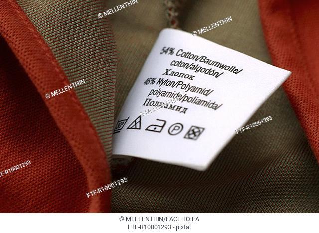 Label in textiles