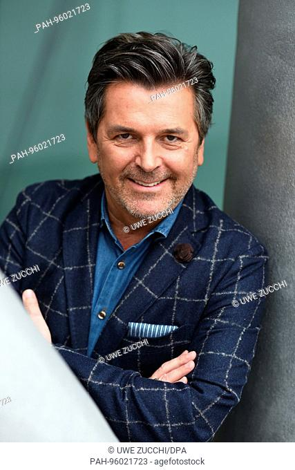 Thomas Anders at the 69th Frankfurt Book Fair in Frankfurt/Main, Germany, October 2017. | usage worldwide. - Frankfurt am Main/Hessen/Germany