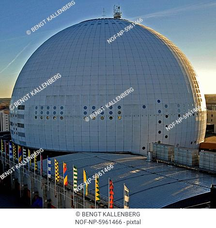 The Ericsson Globe. Stockholm. Sweden