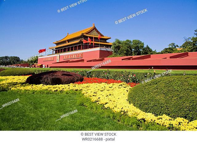 Beijing,Tiananmen Gate Of Heavenly Peace
