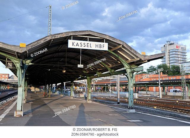 Kulturbahnhof Kassel Hauptbahnhof / Kassel main station / Foto: Robert B. Fishman, ecomedia, 8.6.2012