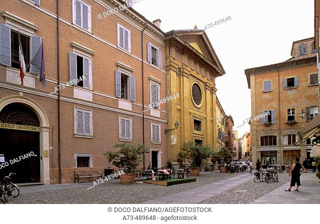 Italy - Emilia Romagna - Modena. Via Santa Eufemia