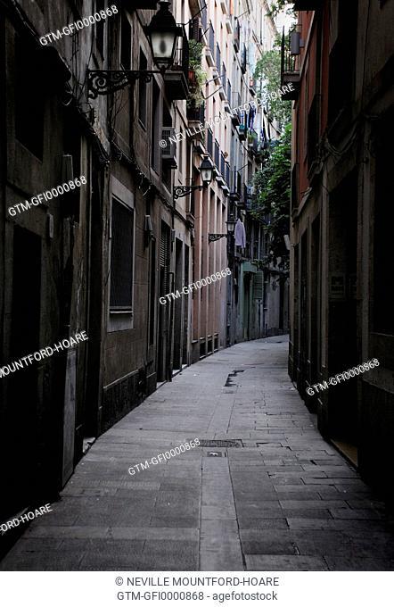 Alleyway in Barcelona