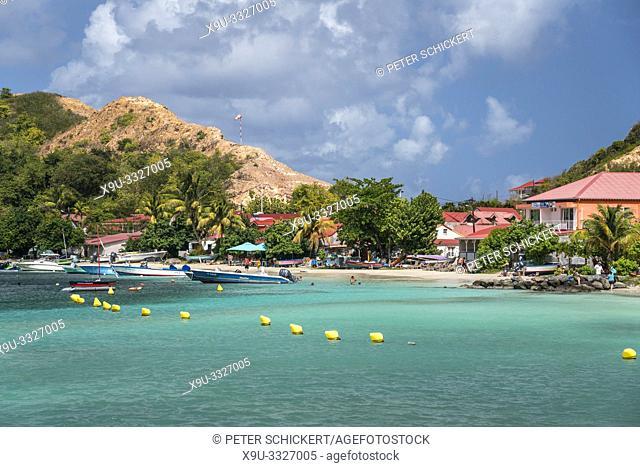 Strand Anse du Fond Cure, Insel Terre-de-Haut, Les Saintes, Guadeloupe, Karibik, Frankreich | Anse du Fond Cure beach, Terre-de-Haut, Les Saintes, Guadeloupe