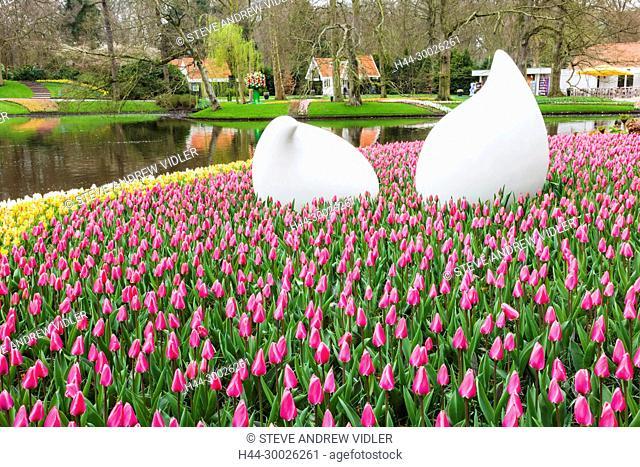 Europe, Netherlands, Lisse, Keukenhof Gardens