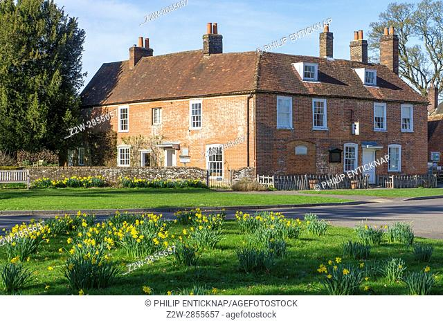 Author Jane Austenâ. . s ( 1775-1817 ) house in the village of Chawton ,East Hampshire where she spent the last eight years of her life is now a museum
