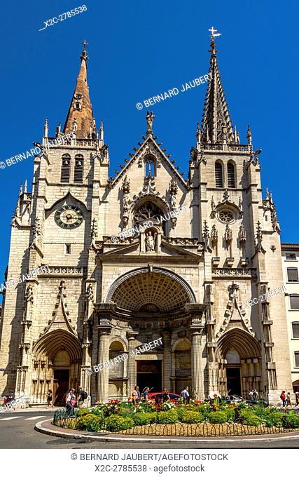 Rhone (69) Lyon 2e arr. Church Saint Nizier. Lyon. Rhone. France. Europe