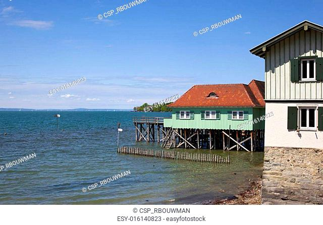 boathouse at the bodensee