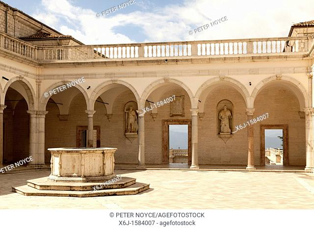 The Benefactors' Cloister at Monte cassino Abbey