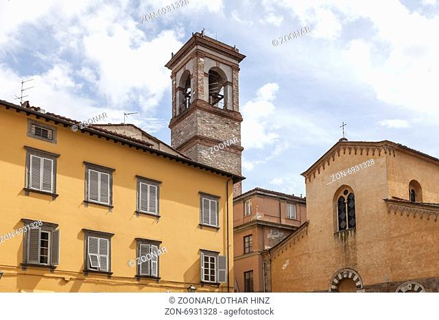 Lucca, Church Chiesa San Salvatore, Tuscany, Italy