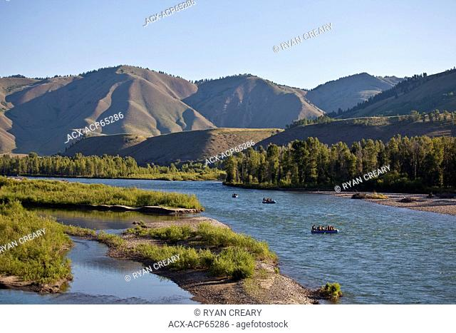 Whitewater rafting on the Snake River, Jackson Hole, WY