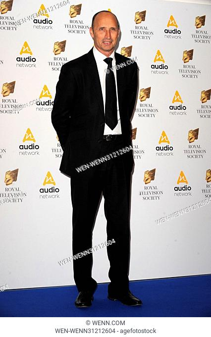 The Royal Television Society Programme Awards held at the Grosvenor House Hotel, Park Lane - Arrivals Featuring: Adam Hills Where: London