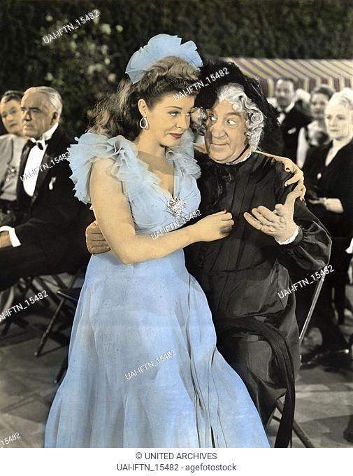 Hellzapoppin', aka: Hellzapoppin - In der Hölle ist der Teufel los, USA 1941, Regie: H. C. Potter, Darsteller: Martha Raye, Hugh Herbert