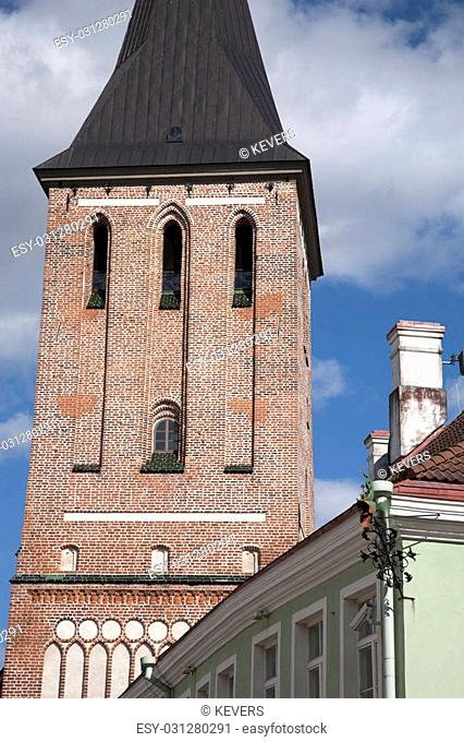 Jaani Church, Tartu, Estonia