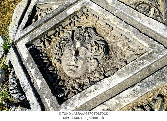 Perge, Old capital of Pamphylia Secunda. Ancient Greece. Asia Minor. Turkey