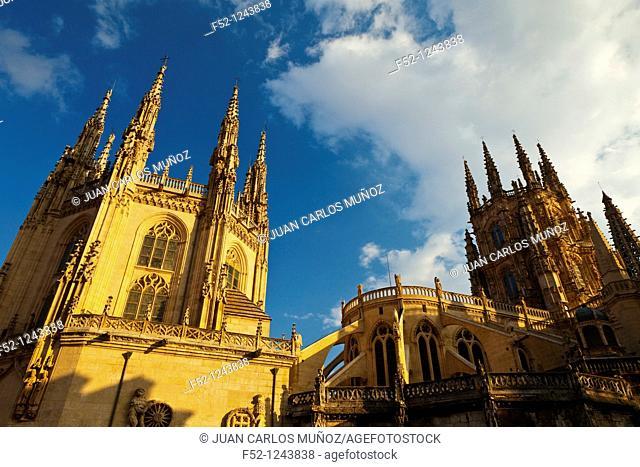 Burgos Cathedral, Burgos, Castilla-Leon, Spain