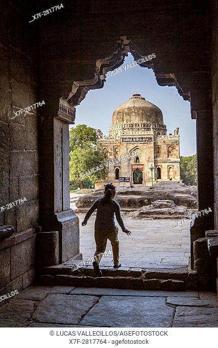 Sheesh Gumbad from Bara Gumbad, Lodi Garden, New Delhi, India