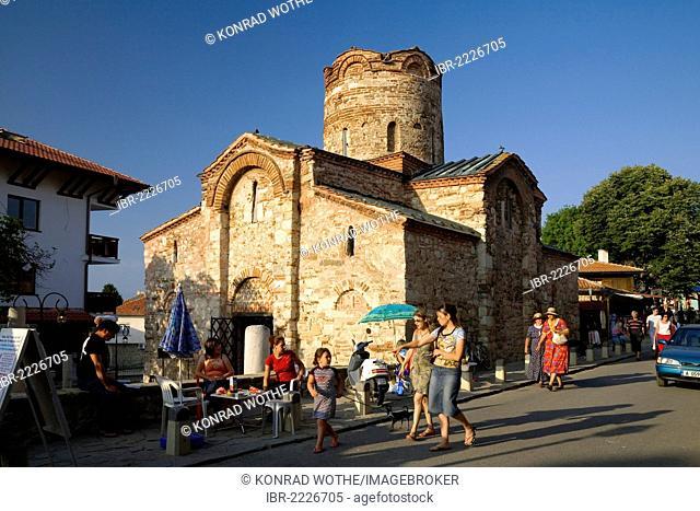 St. John the Baptist Church, Nesebar, Black Sea coast, Bulgaria, Europe