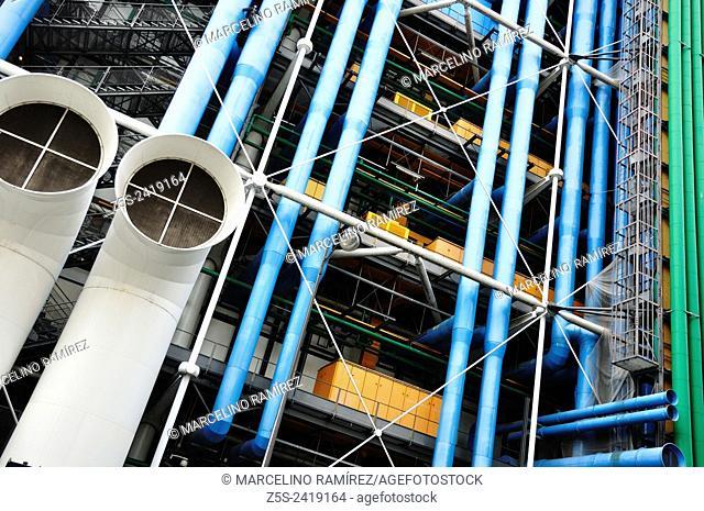 Paris. Centre Georges Pompidou