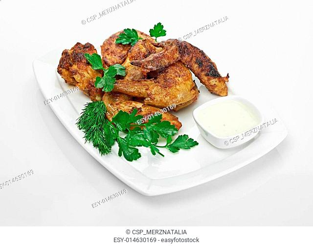 Hot Meat Dishes - Grilled Chicken