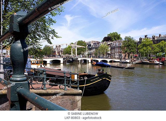 Magere Brug, Amstel, Amsterdam, Netherlands