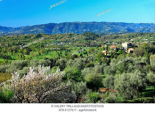 Village de Opio, Arriere pays Grassois, 06, Alpes-Maritimes, PACA,