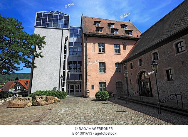 Old Castle, now a museum of local history, Bad Orb, Main-Kinzig district, Hesse, Germany, Europe