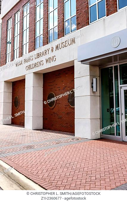 Rosa Parks Library and Museum in Montgomery Alabama