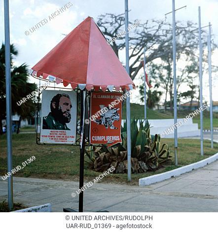 Eine Reise nach Havanna, Kuba 1980er Jahre. A trip to Havana, Cuba 1980s
