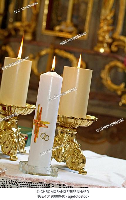 Three Candles in Church
