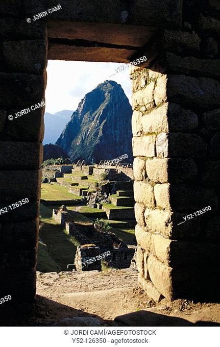 Machu Picchu. Peru