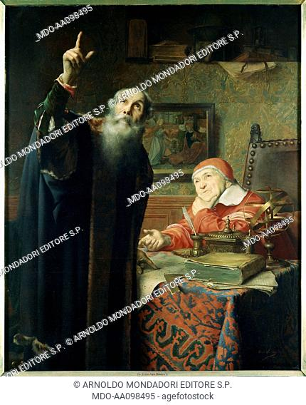 Galileo (and Urban VIII), by Edmond Van Hove, 19th Century