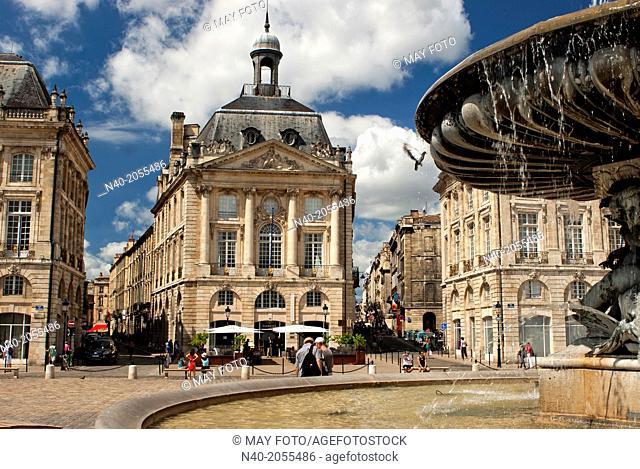 La Place de la Bourse, Bordeaux